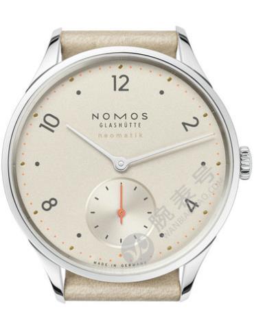 NOMOS-Minimatik champagne1204腕表米色表底盖