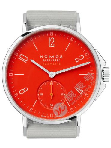 NOMOS-Ahoi neomatik siren red563腕表红色表盘