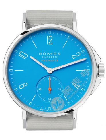 NOMOS-Ahoi neomatik siren blue562腕表浅蓝色表带