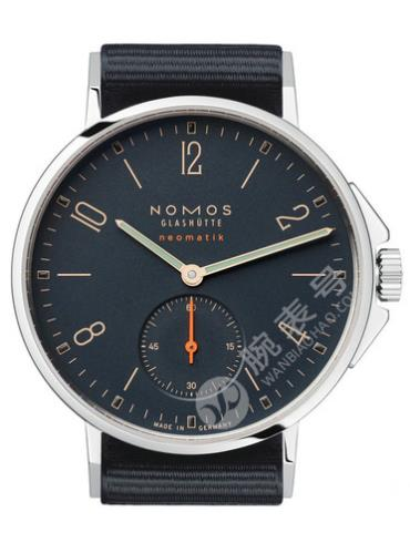 NOMOS-Ahoi neomatik Atlantic561腕表黑色表带