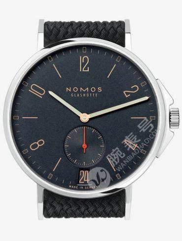 NOMOS-Ahoi Atlantic date553腕表黑色表底盖