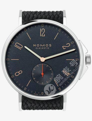 NOMOS-Ahoi Atlantic552腕表黑色表底盖