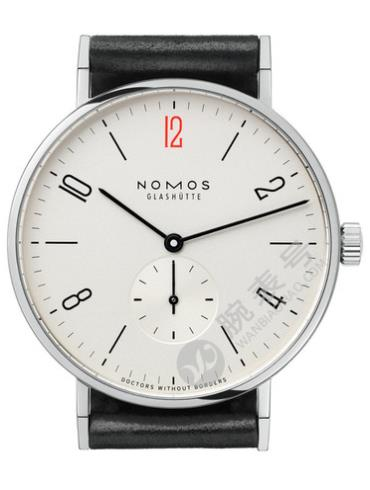 NOMOS FOR DOCTORS WITHOUT BORDERS系列164.S2女士白色表底盖