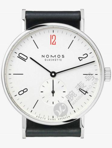 NOMOS FOR DOCTORS WITHOUT BORDERS系列164.S1女士白色表底盖