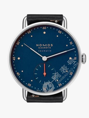 NOMOS-Metro neomatik midnight blue1110腕表蓝色表盘