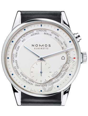 NOMOS-Zürich world time805腕表黑色表带