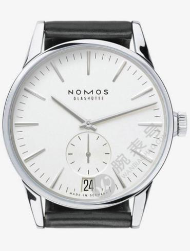 NOMOS-Zürich date802腕表白色表底盖