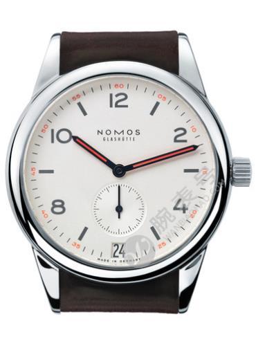NOMOS Club系列733黑色表带