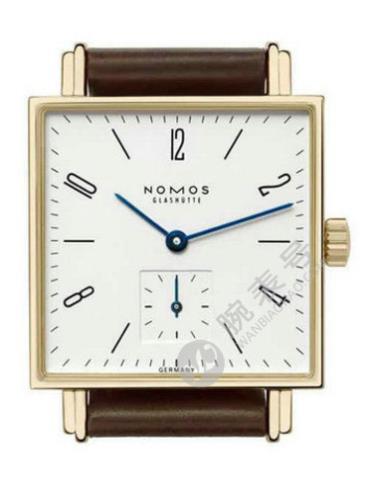 NOMOS Tetra系列413深棕色白色