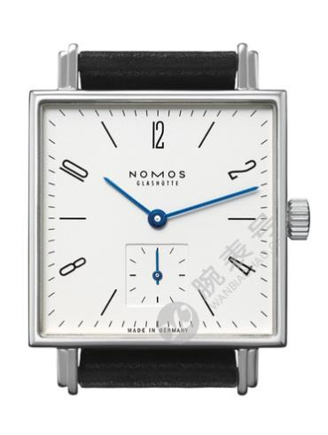 NOMOS-Tetra408腕表白色表底盖