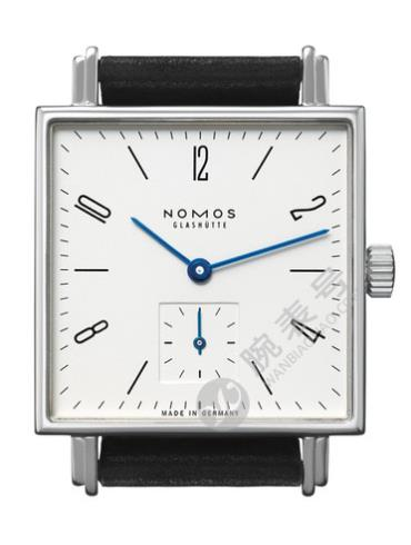 NOMOS Tetra系列406白色表底盖