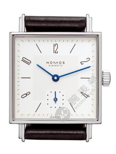 NOMOS-Tetra 27401腕表白色表底盖