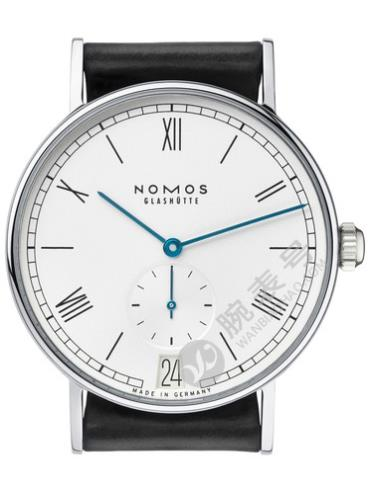 NOMOS-Ludwig 38 date231腕表白色表底盖