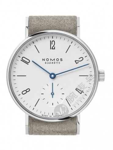 NOMOS Tangente系列123白色表底盖