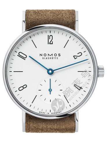 NOMOS-Tangente 33122腕表白色表底盖