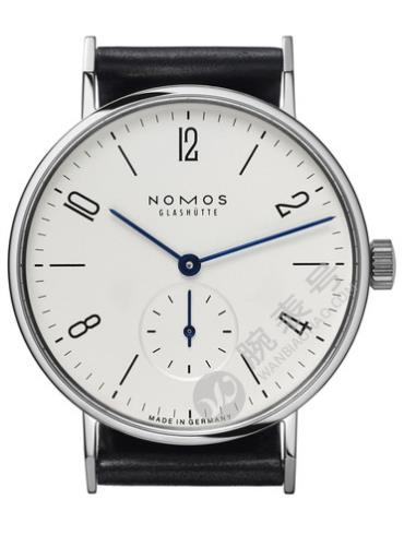 NOMOS-Tangente101腕表白色表底盖