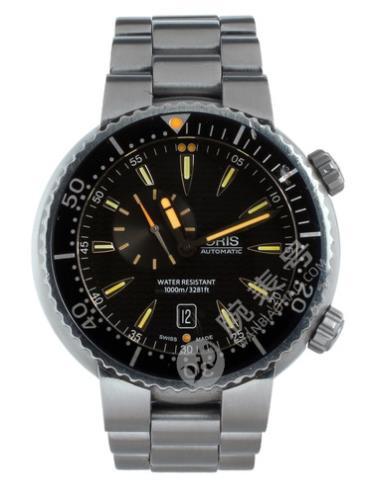 豪利时潜水系列01 743 7609 8454-07 8 24 01PEB黑色表盘