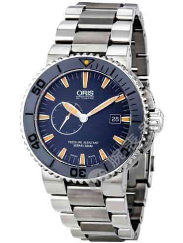 豪利时潜水系列01 643 7654 7185-Set MB蓝色表盘