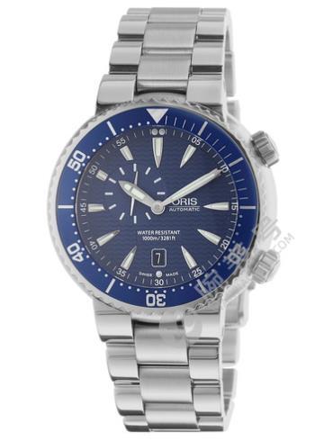 豪利时潜水系列0164376098555-0782401PEB深蓝色表壳