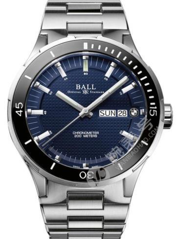 波尔宝马系列DM3010B-S2CJ-BE男士腕表蓝色表盘