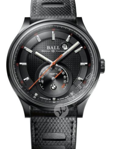 波尔宝马系列温度计手表NM3010D-SCJ-BE黑色表盘