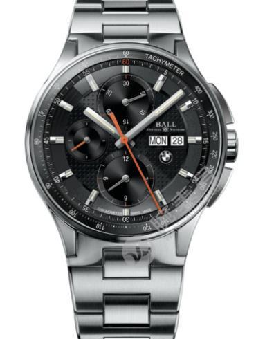 波尔宝马系列计时码表CM3010C-SCJ-BK精钢表扣