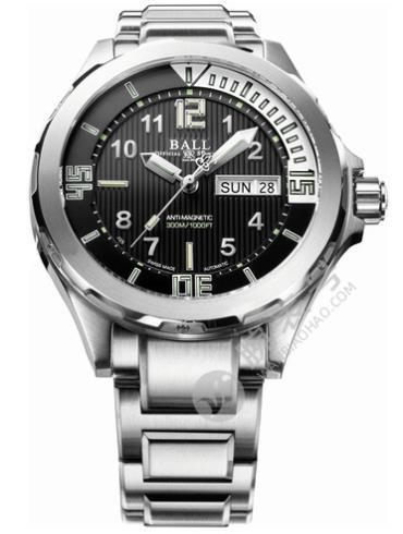 波尔工程师长官升级系列DM3020A-SAJ-BK潜水员男表