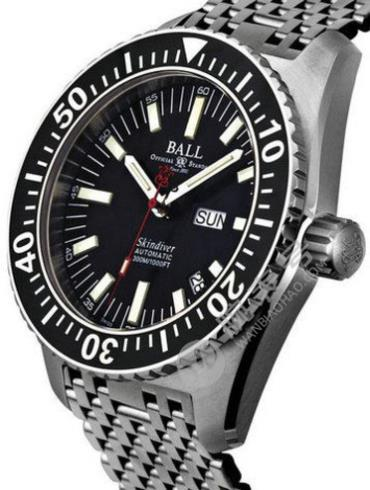 波尔工程师长官升级系列潜水员DM2108A-S-BK黑色表盘