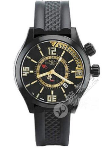 波尔工程师长官升级系列DG1020A-P1AJ-BKGO精钢表扣