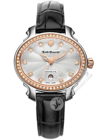 艾米龙皇室明珠系列06.3881.L.6.9.22.2黑色表底盖