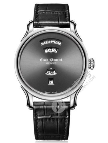 艾米龙Héritier传承系列18.1129.G.6.2.63.2黑色表底盖