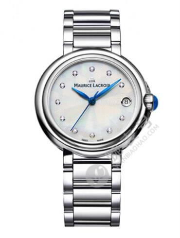 艾美FIABA系列日期腕表FA1004-SS002-170-1白色表盘