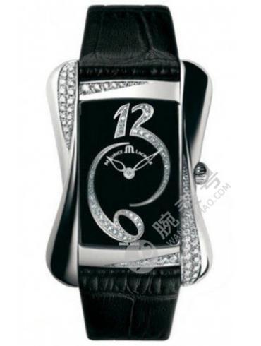 艾美Divina系列DV5012-SD551-350黑色表带