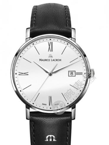 艾美Eliros系列日期腕表EL1087-SS001-111白色表盘