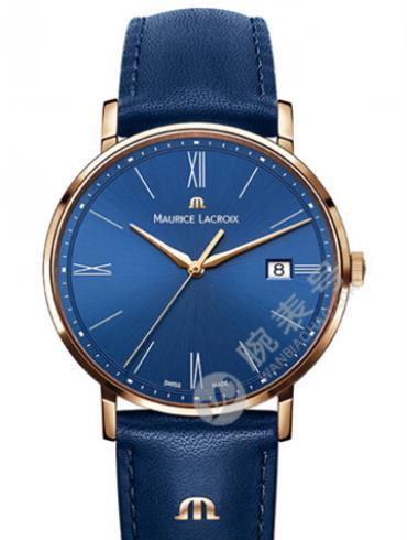 艾美Eliros系列日期腕表EL1087-PVP01-410蓝色表盘