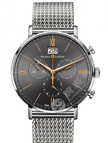 艾美Eliros系列日期腕表EL1088-SS002-812黑色表盘