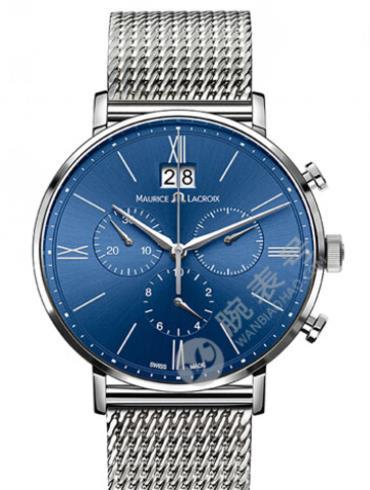 艾美Eliros系列日期腕表EL1088-SS002-410蓝色表盘