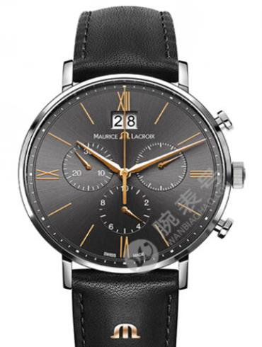艾美Eliros系列日期腕表EL1088-SS001-812黑色表盘