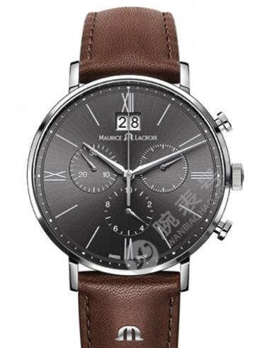 艾美Eliros系列日期腕表EL1088-SS001-811黑色表盘