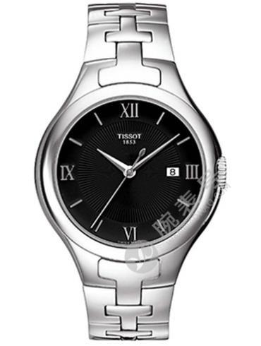 天梭T-LADY系列T082.210.11.058.00银色表壳