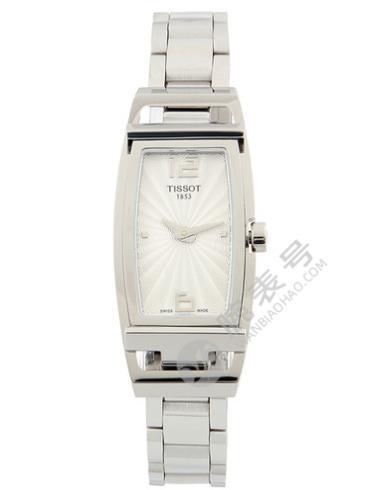 天梭T-Lady系列T037.309.11.037.00白色表底盖