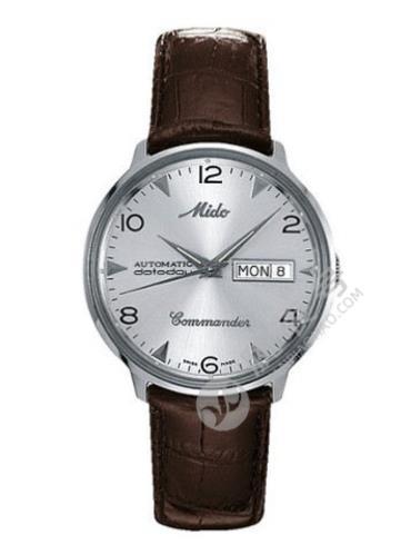 美度指挥官系列M8419.4.51.8精钢表扣