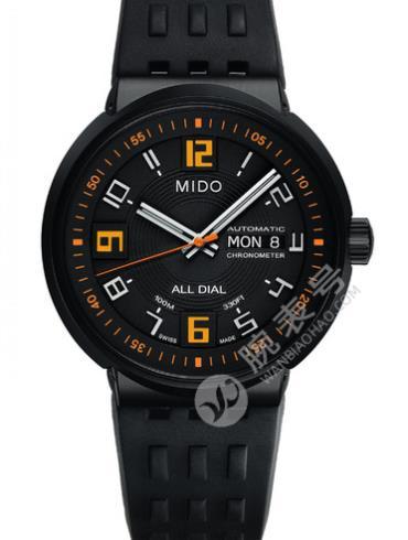 美度完美系列M8340.3.P8.9黑色表盘