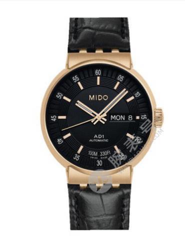 美度完美系列M8330.5.18.4黑色表盘