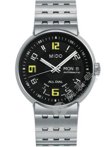 美度完美系列M8330.4.38.13黑色表盘