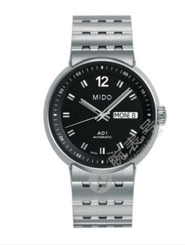 美度完美系列M8330.4.28.1黑色表盘