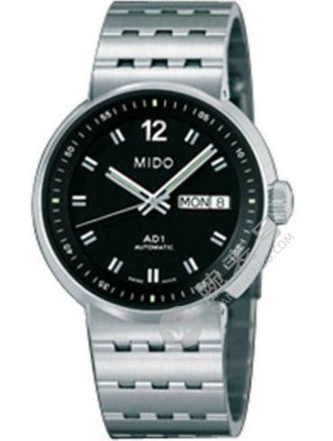 美度完美系列M8330.4.23.13黑色表盘