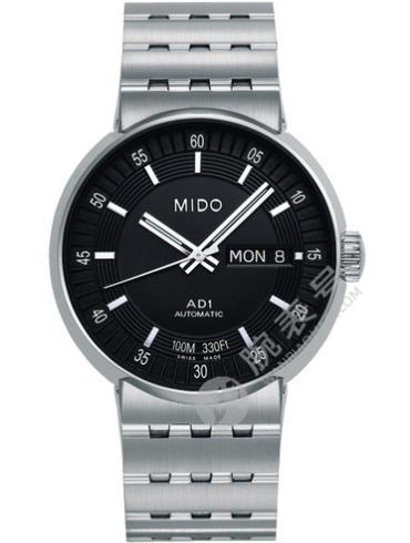 美度完美系列M8330.4.18.1黑色表盘