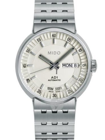 美度完美系列M8330.4.11.13白色表盘