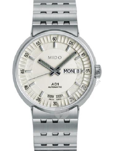 美度完美系列M8330.4.11.1白色表盘